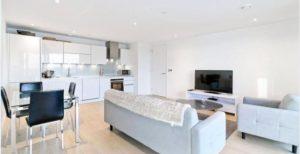 3 Bedroom 2 Bathroom – Canary Wharf E14