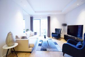 Three Bed Apartment 2 bathroom – London City Island E14