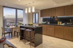 One bed apartment -Landmark Pinnacle – Canary Wharf  – E14